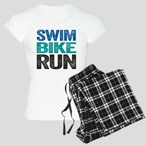Triathlon. Swim. Bike. Run. Pajamas